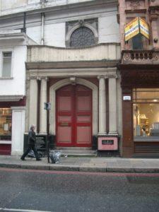 Side door of St Peter's Cornhill